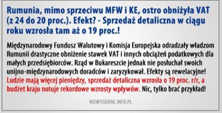 VAT Rumunia