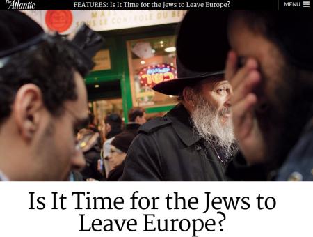 JEWS EUROPE ANTISEMITISM
